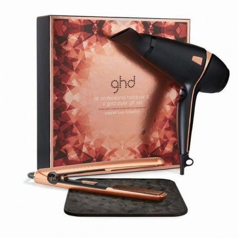 GHD Kit Phon + Piastra Gold V Copper LIMITED EDITION