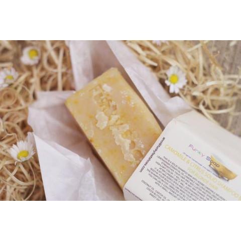 Saponetta Shampoo Solido alla Camomilla e Agrumi