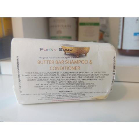 Saponetta Shampoo Solido & Balsamo Barra di Burro